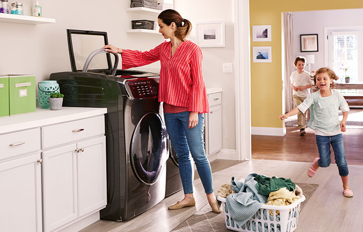 Appliances In A Laundry Room