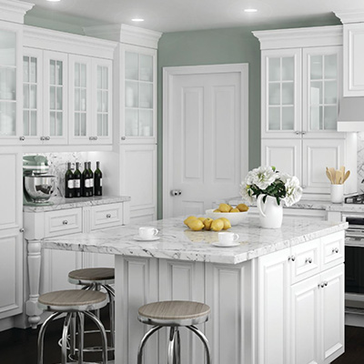 Kitchen cabinets color gallery at the home depot for Pacific home collection