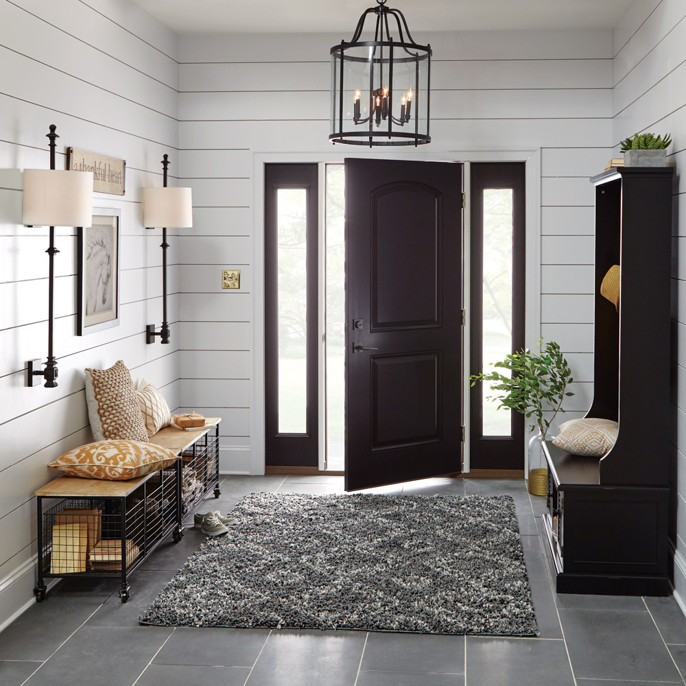 Welcome Home 2017 Summer Decor Catalog : 24 72G ModernFarmhouse Entryway C11 1000x1000 from www.homedepot.com size 1000 x 1000 jpeg 282kB