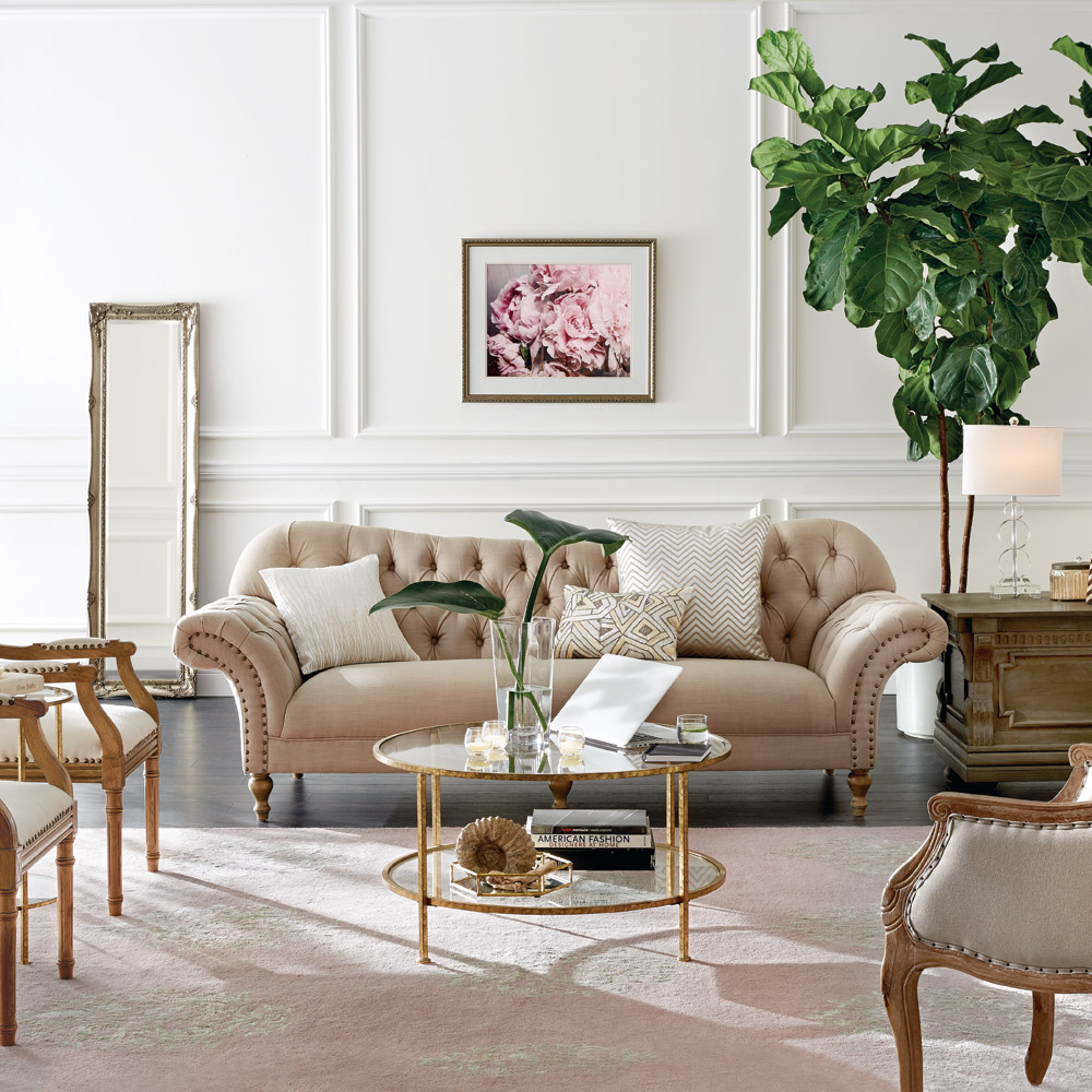 Classic Glam Living Room