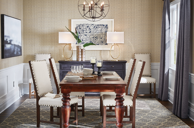 Create   Customize Your Home Decor Catalog Urban Modern Dining Room   The  Home Depot. Create   Customize Your Home Decor Catalog Urban Modern Dining