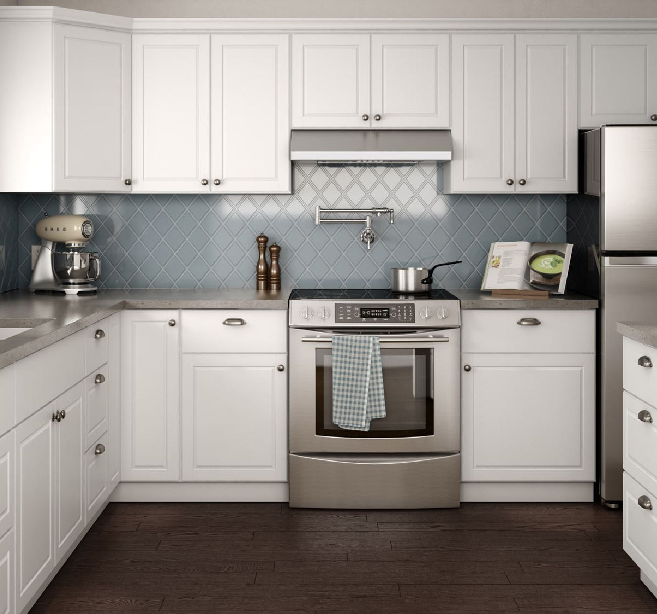 Create & Customize Your Kitchen Cabinets Madison Pantry