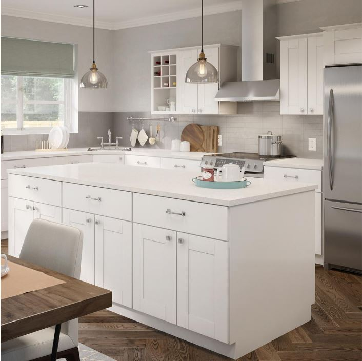 warm white kitchen cabinets create amp customize your kitchen princeton pantry cabinets 7006