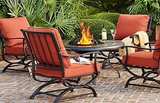 Create U0026 Customize Your Patio Furniture Redwood Valley Collection U2013 The Home  Depot  Home Depot Patio