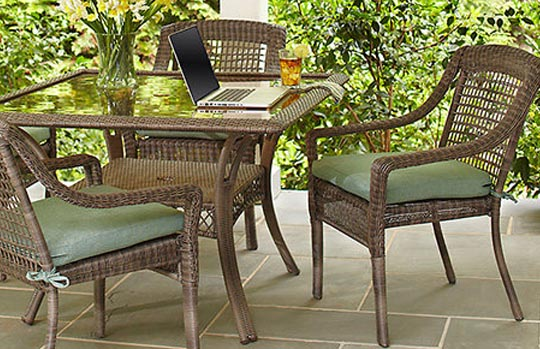Create U0026 Customize Your Patio Furniture Spring Haven Grey Collection U2013 The Home  Depot  Home Depot Patio